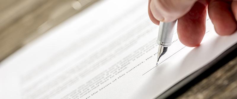夫婦間の契約